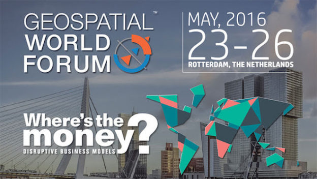 Geospatial World Forum 2016 Rotterdam