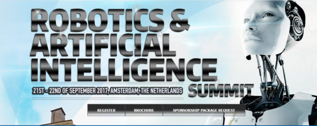 Robotics & AI Summit Amsterdam 2017